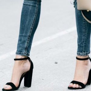 Guess Shantel Strappy  Suede Sandals